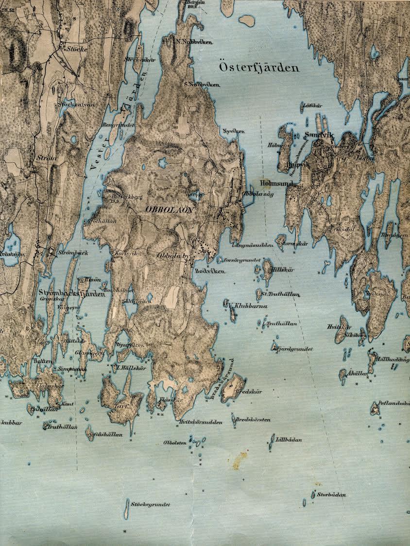 Karta Den Stora Algvandringen.Visit Skargarden Tips Infor Sommaren Obbola Se